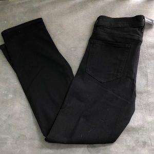 NWT Express skinny mid rise black jeans